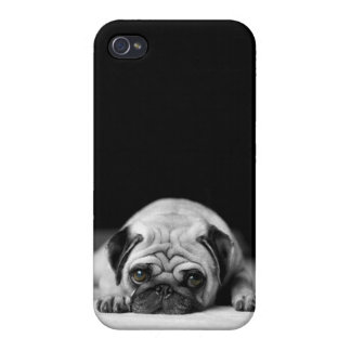 Sad Pug iPhone 4/4S Case