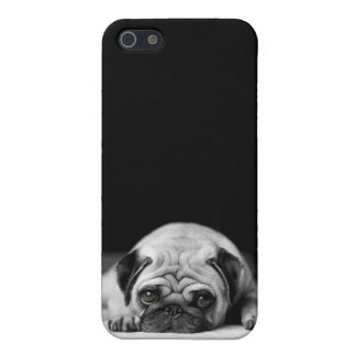 Sad Pug iPhone 5 Case