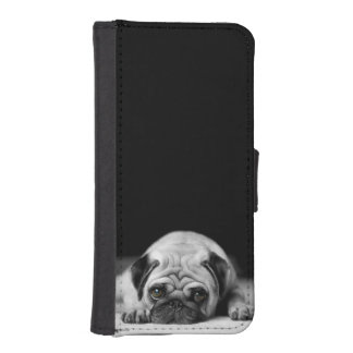 Sad Pug iPhone SE/5/5s Wallet Case