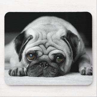 Sad Pug Mouse Mat