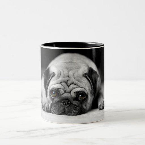 Sad Pug Coffee Mugs