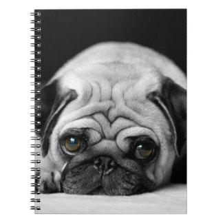 Sad Pug Notebook