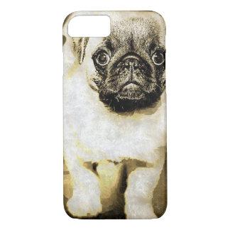 Sad Pug Puppy Case