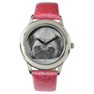 Sad Pug Wrist Watch
