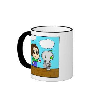 Sad Robot Coffee Mug