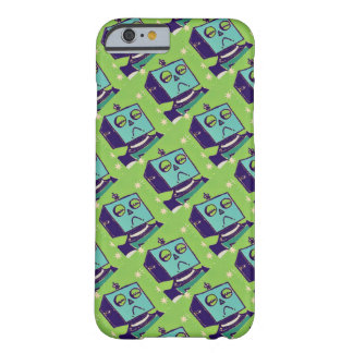Sad Robot Green iPhone 6 Case