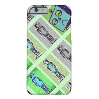Sad Robot Green Tricolor iPhone 6 Case