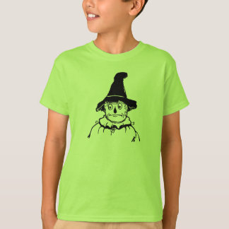 Sad Scarecrow Wizard of Oz Vintage Illustration T-Shirt