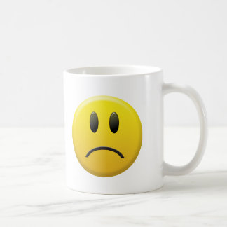 Sad Smiley Face Coffee Mug