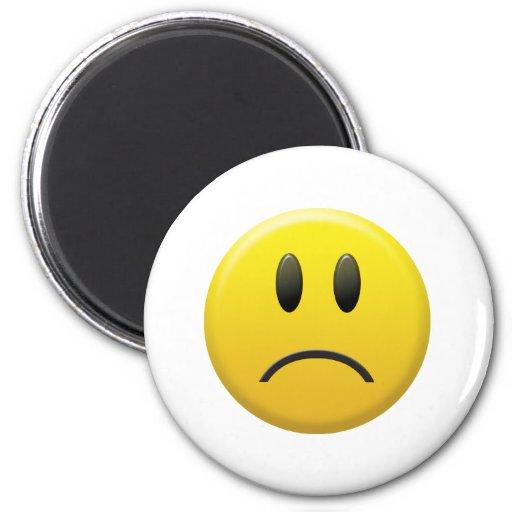 Sad Smiley Face Magnet