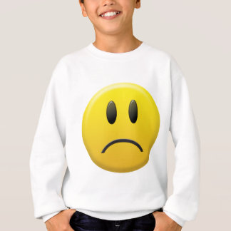 Sad Smiley Face Sweatshirt