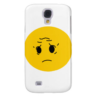 sad smiley galaxy s4 case
