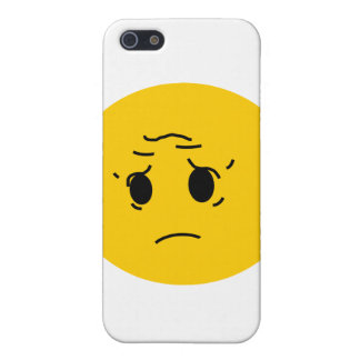 sad smiley iPhone 5 cover