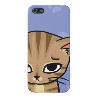 Sad Tabby cat Kitten iPhone 5/5S Covers