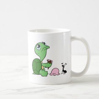 Sad Turtle Happy Ant Coffee Mug