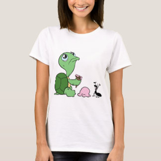 Sad Turtle Happy Ant T-Shirt