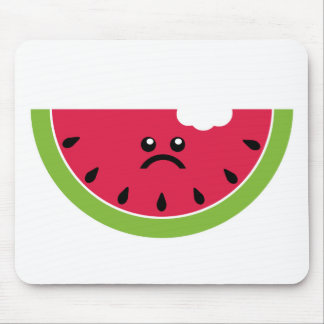 Sad Watermelon Mousepad
