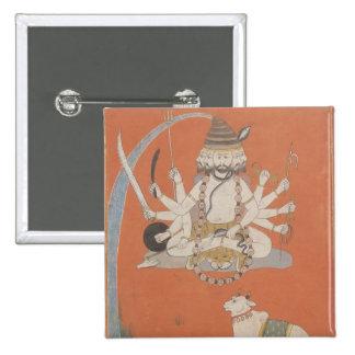 Sadashiva, Rajasthan 15 Cm Square Badge