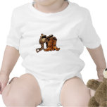 Saddle and Boots T Shirts