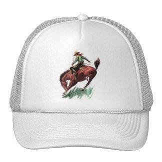 Saddle Bronc Riding Hats