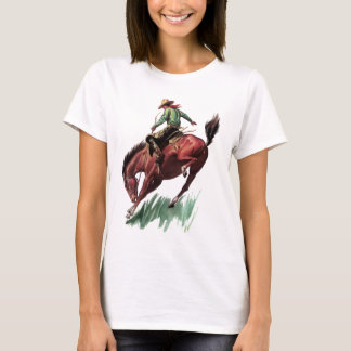 Saddle Bronc Riding T-Shirt