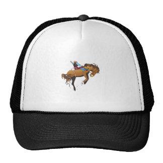 SADDLE BRONC SMALLER MESH HATS