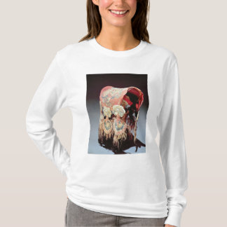 Saddle Cover with griffins attacking goats T-Shirt