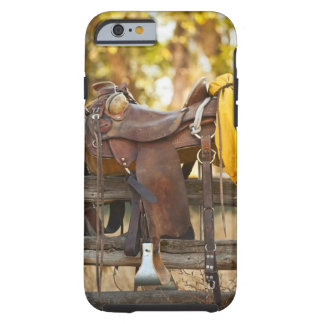 Saddle on fence tough iPhone 6 case