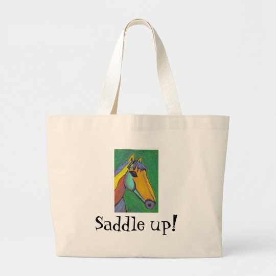 Saddle up! - classic tote bag