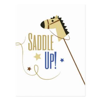 Saddle Up Postcard