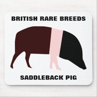 Saddleback Pig Customizable Mousepad Mouse Pad