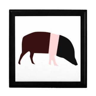 Saddleback Pig Gift Box