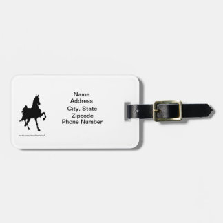 Saddlebred Address Tag Tags For Bags