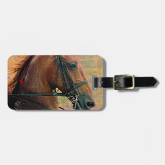 Saddlebred Faux Painting Tag For Bags