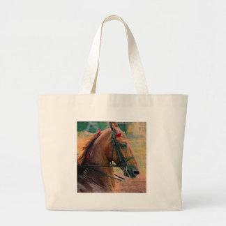 Saddlebred Faux Painting Jumbo Tote Bag