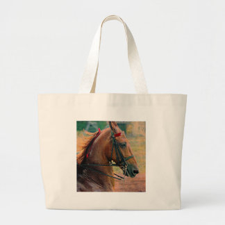 Saddlebred Faux Painting Tote Bags