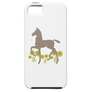 Saddlebred Foal Flowers in olive Cover For iPhone 5/5S