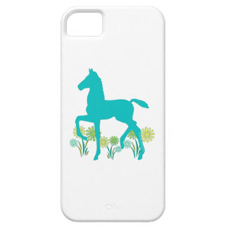 Saddlebred Foal Spring Flowers iPhone 5 Cover