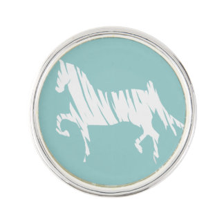 Saddlebred Horse Art Lapel Pin