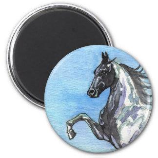 Saddlebred Horse Art Magnet