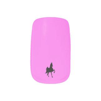 Saddlebred Horse Nail Stickers