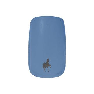 Saddlebred Horse Nails Sticker