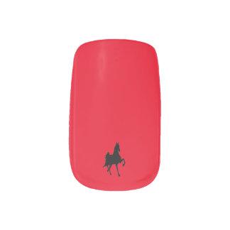 Saddlebred Horse Nails Stickers