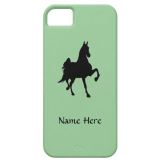 Saddlebred Horse Silhouette iPhone 5 Cover