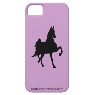 Saddlebred Silhouette iPhone 5 Case