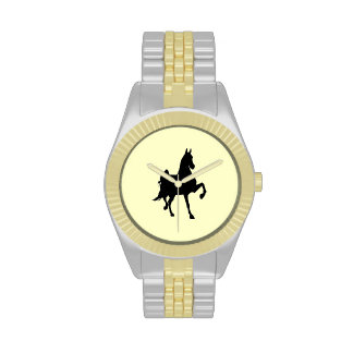 Saddlebred Silhouette Wristwatch