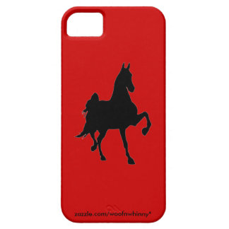 Saddlebred Silhouette iPhone 5 Covers