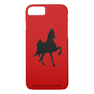 Saddlebred Silhouette iPhone 7 Case
