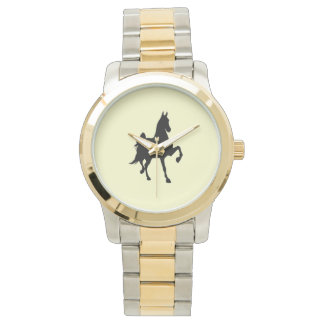 Saddlebred Silhouette Wristwatches