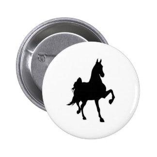 Saddlebreds 6 Cm Round Badge